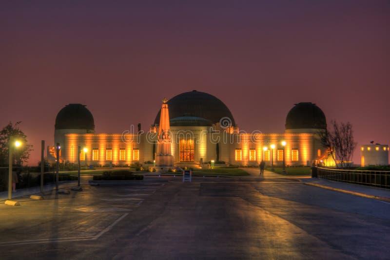 griffith observatorium royaltyfri foto