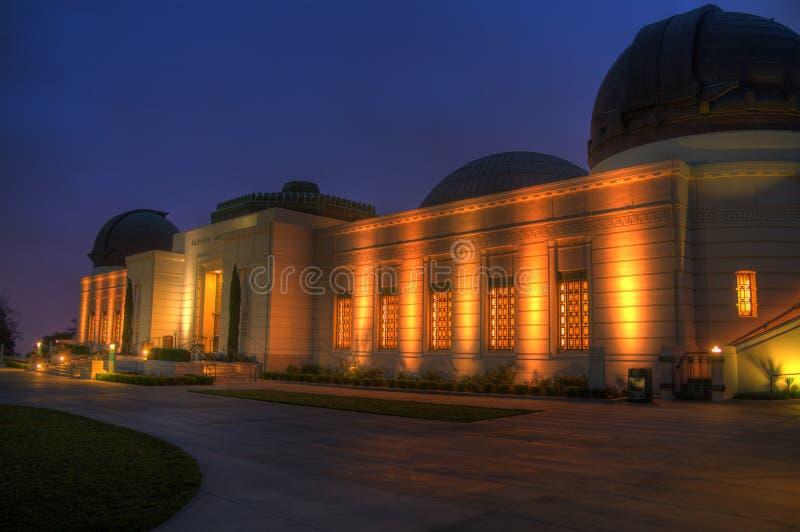 griffith observatorium royaltyfri bild