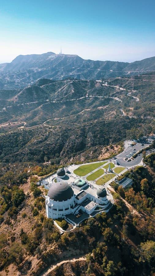 Griffith Observatory arkivbild