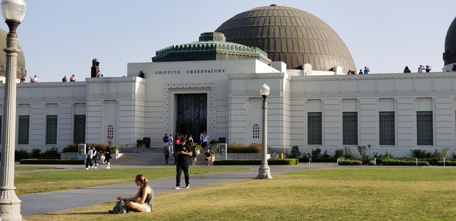 Griffith Observatory immagini stock