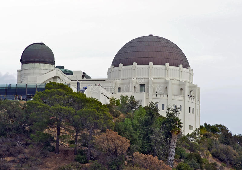 Griffith Observatory royalty-vrije stock fotografie