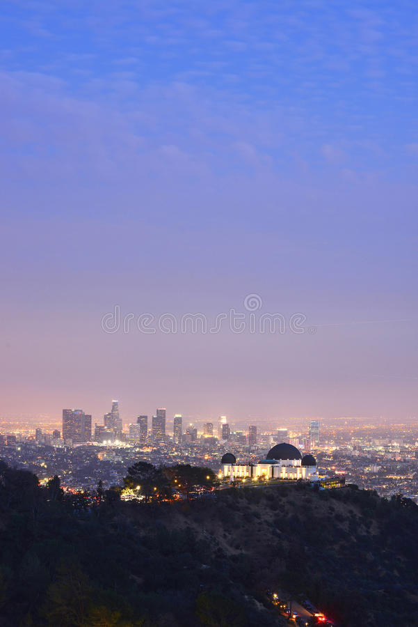 Griffith Observatory imagens de stock royalty free