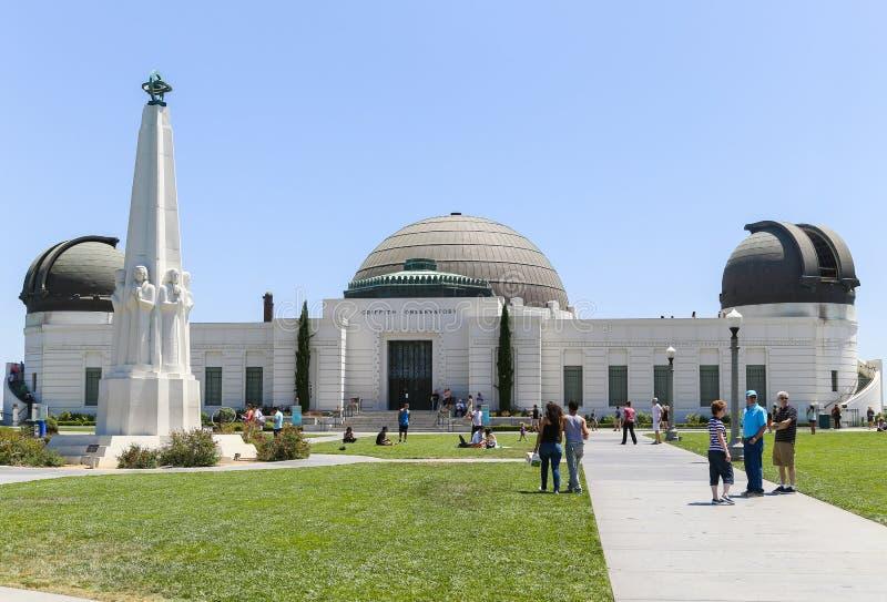 Griffith Observatory immagini stock libere da diritti