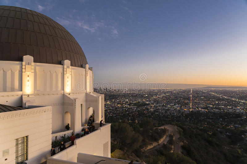 Griffith Observatory stock foto's