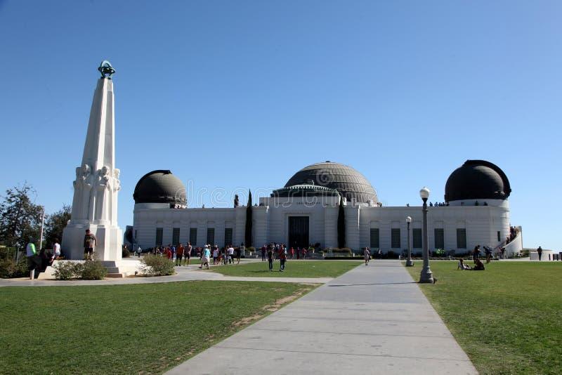 Griffith Observatory foto de archivo libre de regalías