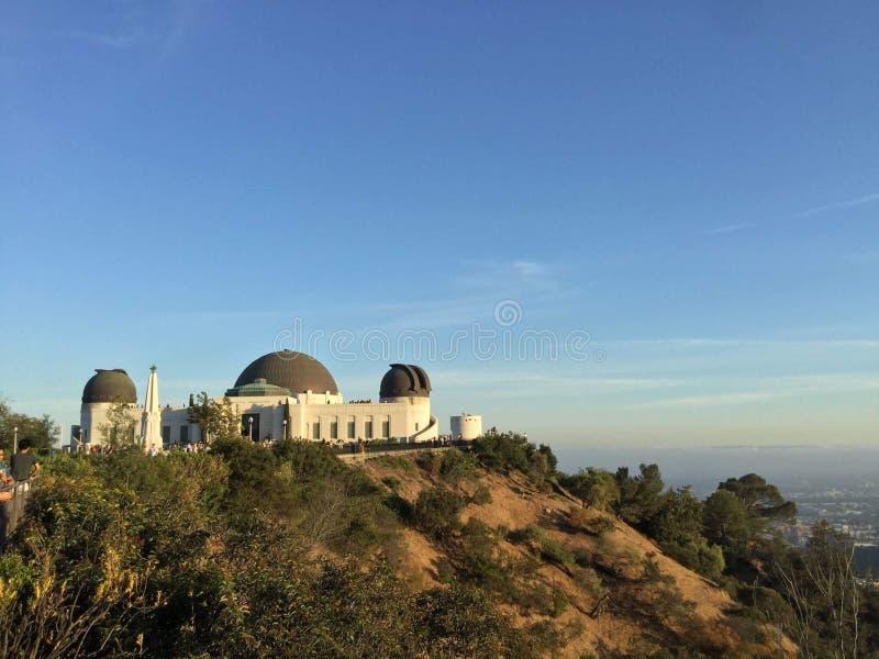 Griffith Observatory fotografia stock libera da diritti