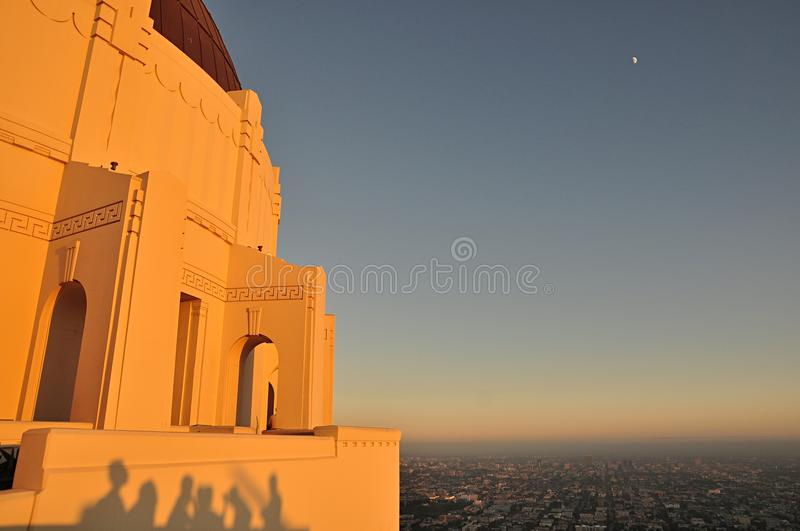 Griffith Observatory photo stock