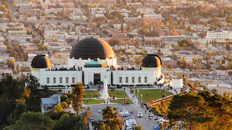 Griffith Observatory photos stock