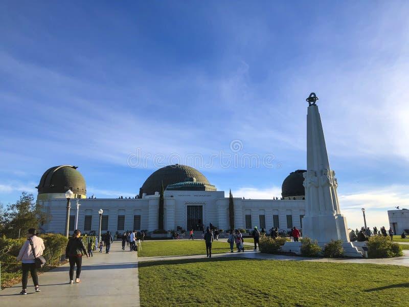 Griffith Observatory en el d3ia imagen de archivo