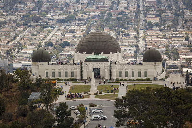 Griffith Observatory en Los Ángeles California fotos de archivo libres de regalías