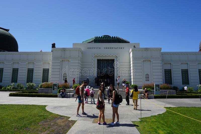 Griffith Observatory in Los Angeles, royalty-vrije stock afbeelding