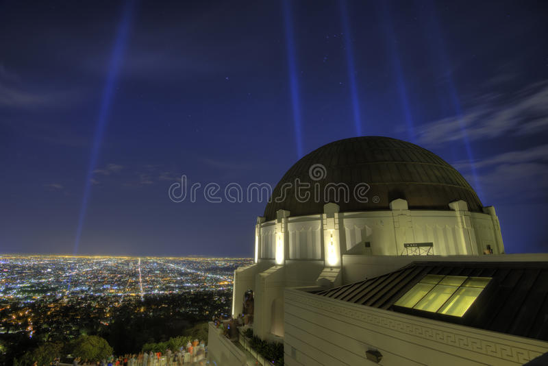 Griffith Observatory Los Angeles immagini stock
