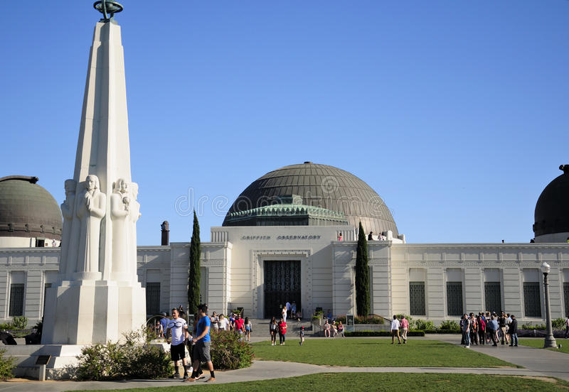 Griffith Observatory Los Angeles immagine stock