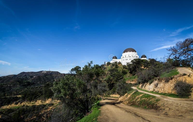 Griffith Observatory - Los Angeles, California, U.S.A. immagini stock libere da diritti