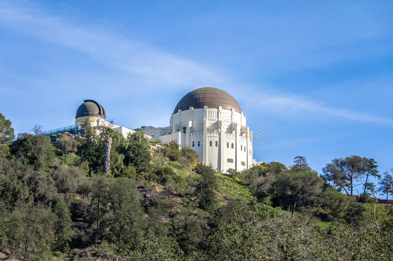 Griffith Observatory - Los Angeles, California, U.S.A. fotografie stock