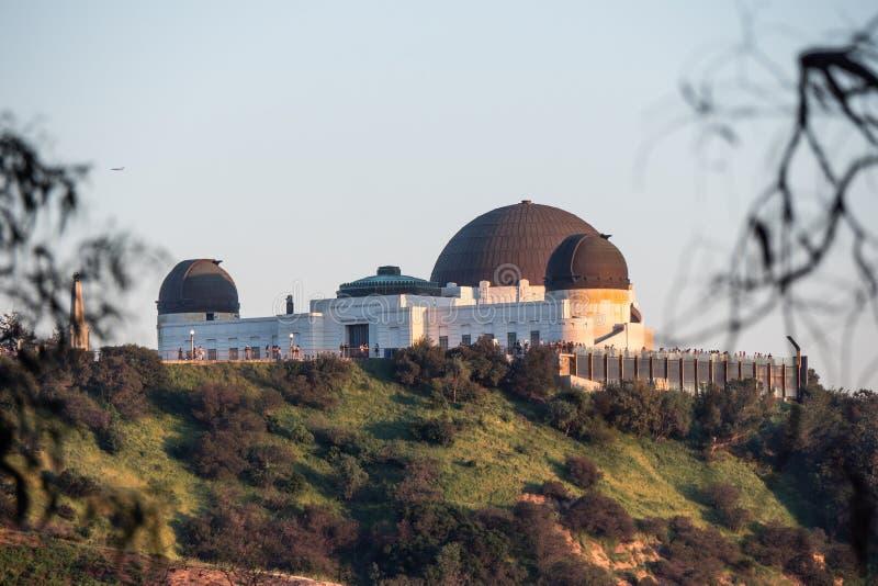 Griffith Observatory a Los Angeles - California, U.S.A. - 18 marzo 2019 fotografia stock libera da diritti