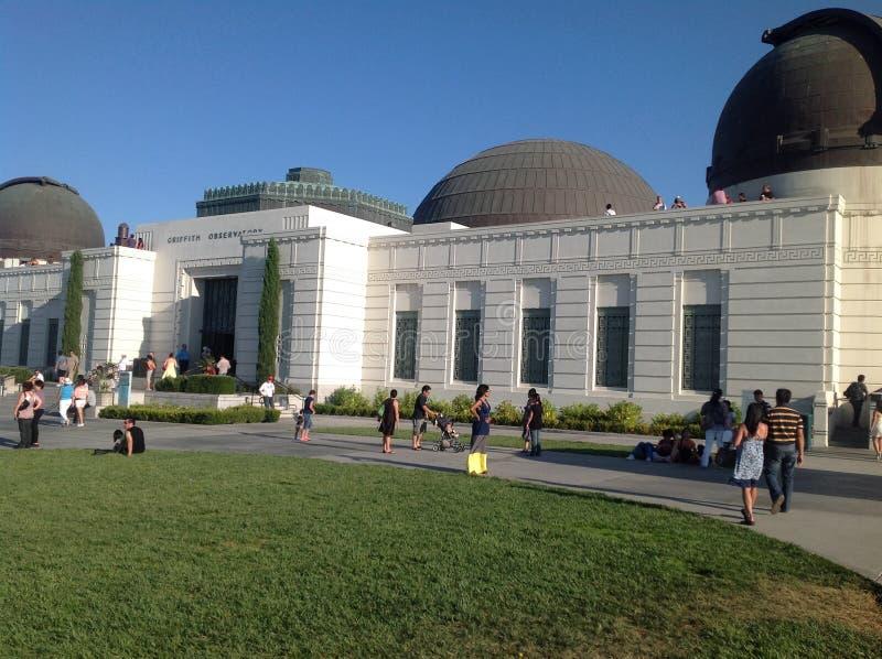 Griffith Observatory a Los Angeles, U.S.A. immagini stock libere da diritti