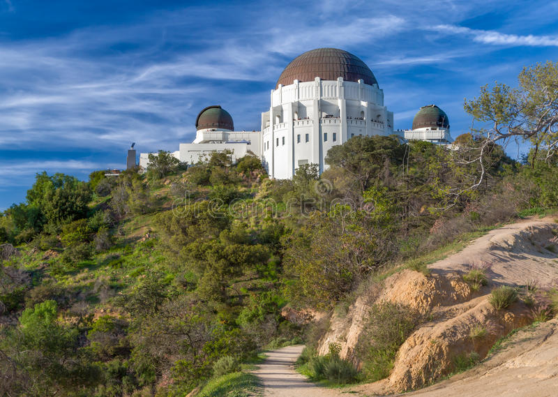 Griffith Observatory storico fotografie stock