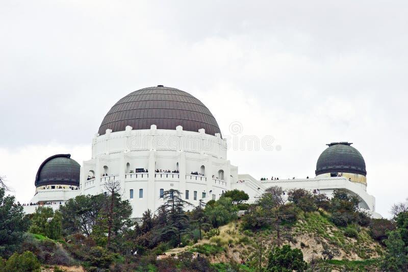 Griffith Observatory: Una señal histórica de Los Angeles fotografía de archivo libre de regalías