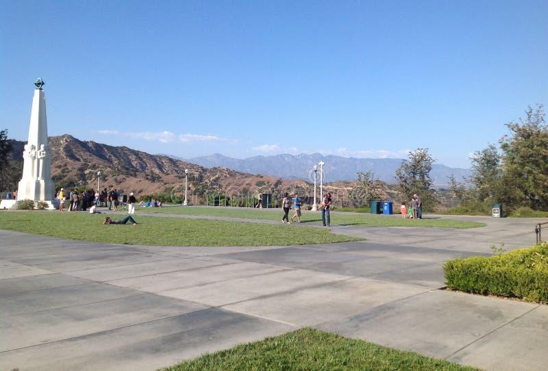 Griffith obserwatorium w Los Angeles, usa obraz royalty free