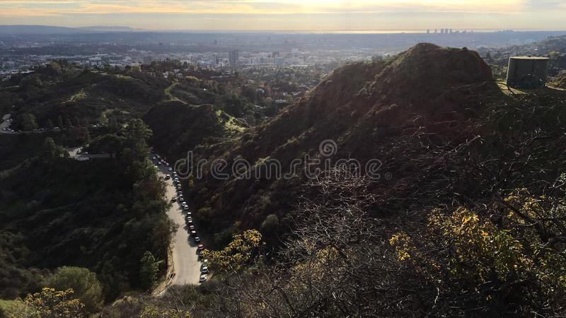 Griffith Park immagini stock