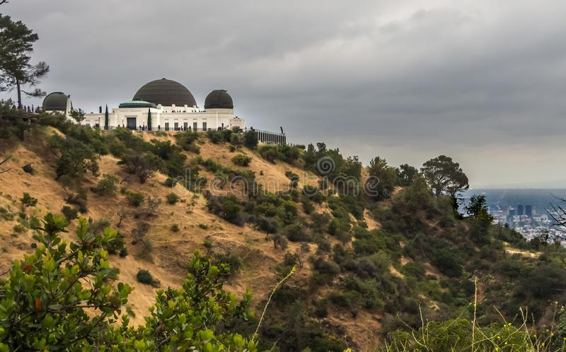 Griffith Park Observatory stock photo  Image of urban - 10981982