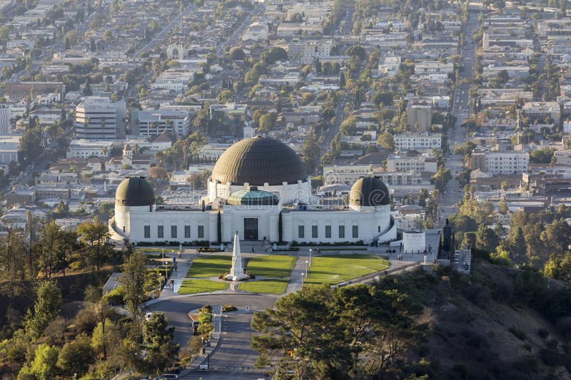 Download Griffith Park Observatory editorial photography. Image of science - 35056097
