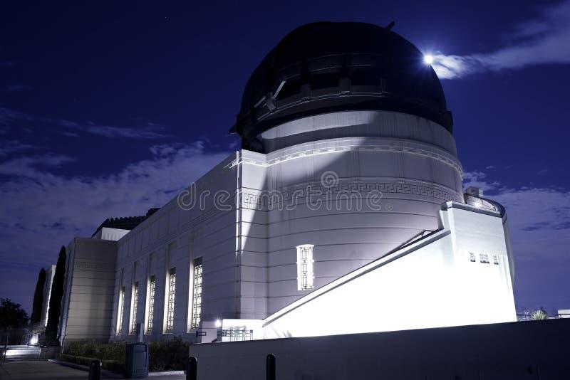 Griffith Park och observatorium arkivbild