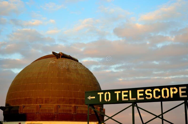 Griffith Parkowy obserwatorium fotografia stock
