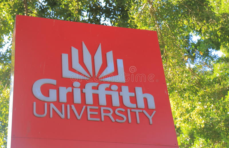 Griffith University Brisbane Australia photographie stock