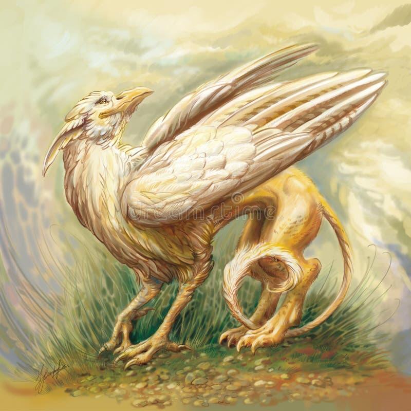 Griffon illustration stock