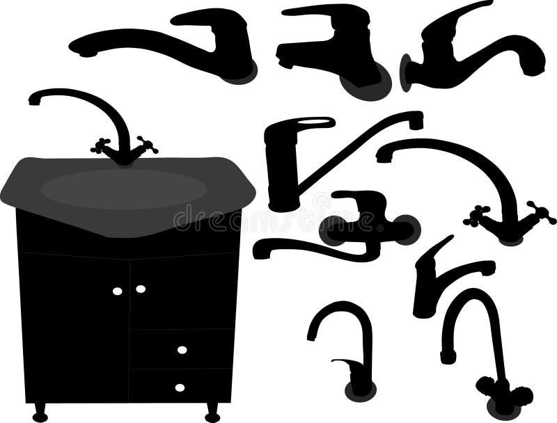 Grifo stock de ilustración