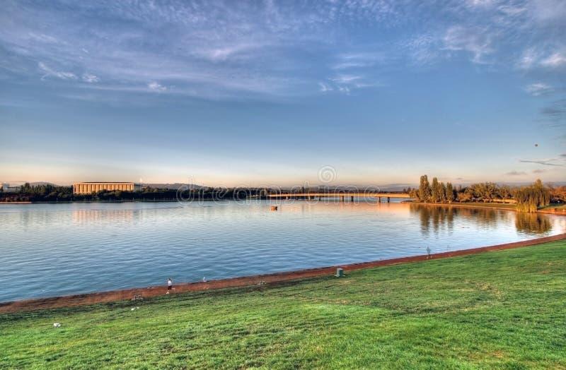 Grifone di Burley del lago immagini stock libere da diritti