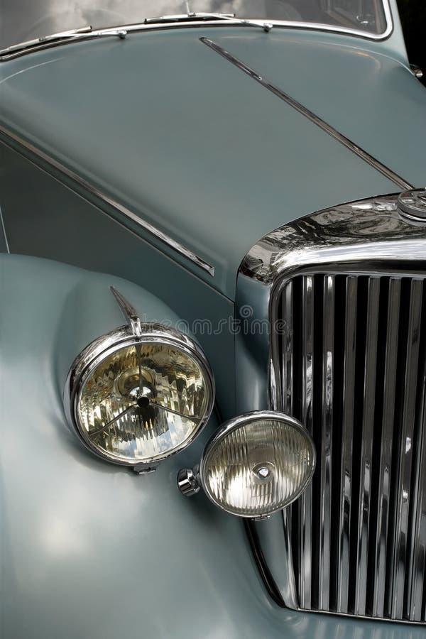 Griglia 2 dell'automobile antica fotografia stock libera da diritti