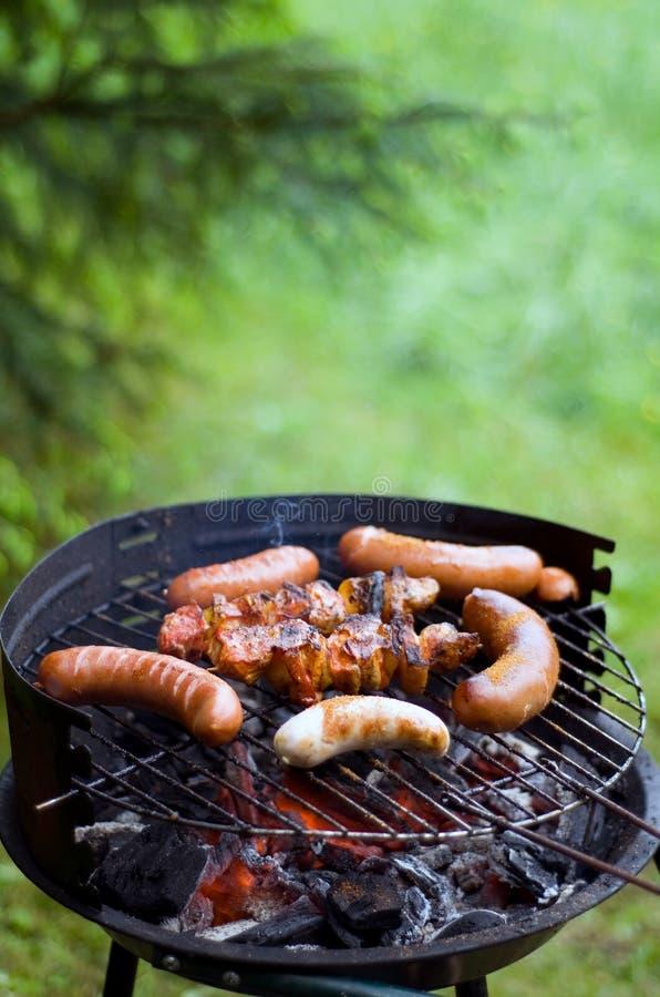 Griglia del barbecue. fotografie stock