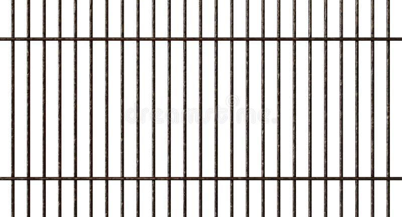 Griglia del metallo del barbecue illustrazione vettoriale