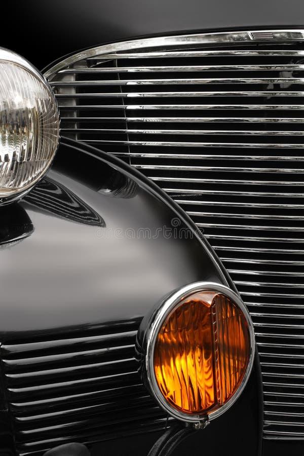Griglia dell'automobile antica immagine stock