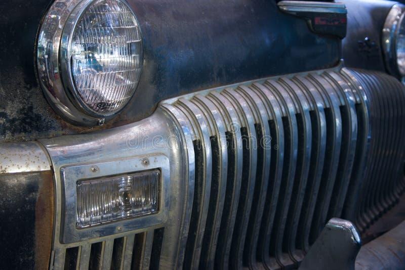 Griglia dell'automobile antica fotografia stock
