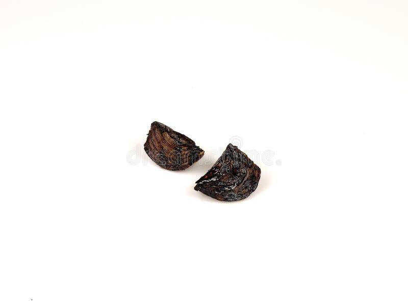 Griglia della cipolla su un fondo bianco immagini stock