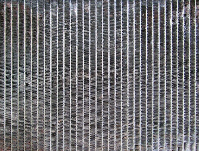 Griglia della ferraglia immagine stock