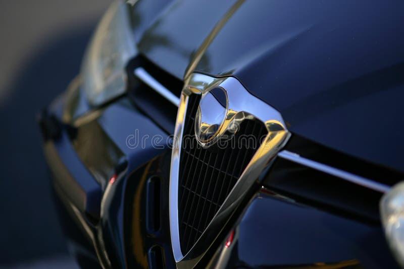 Griglia di radiatore dell'automobile fotografie stock