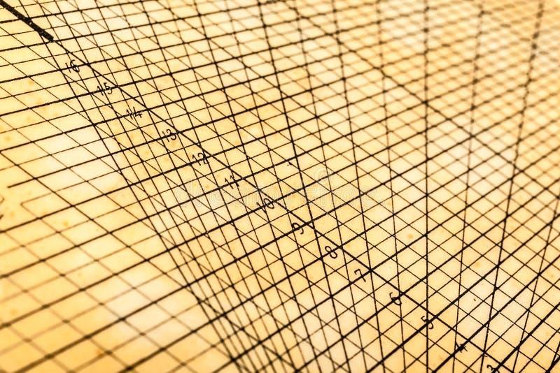 Griglia geometrica della tavola fotografia stock libera da diritti