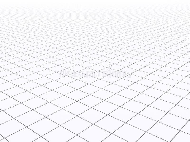 Griglia infinita illustrazione vettoriale