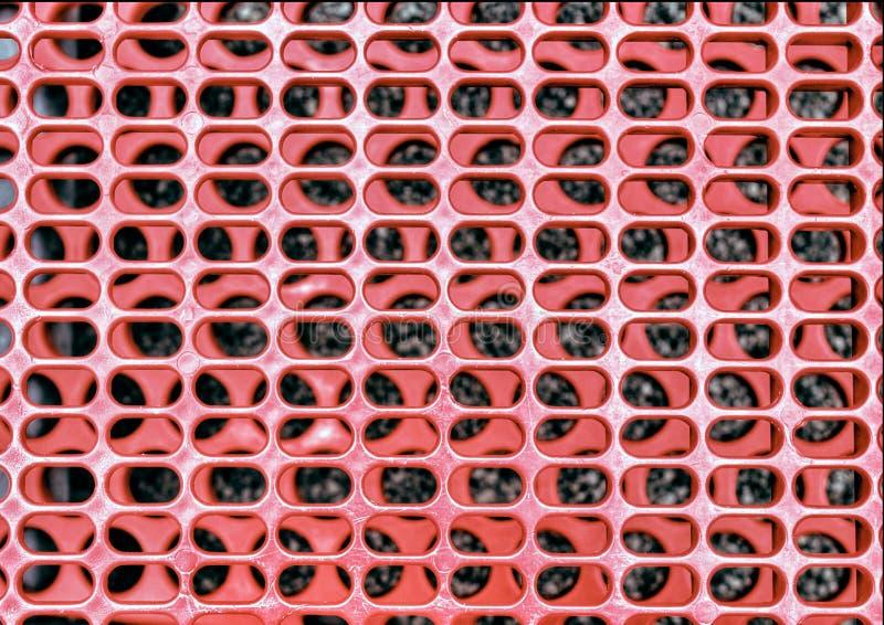 Griglia rossa fotografie stock libere da diritti