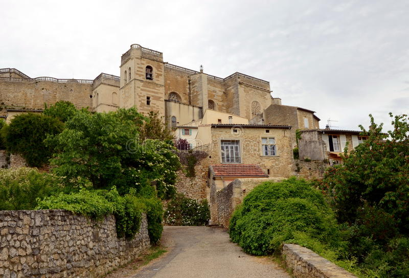 Grignan, France images stock