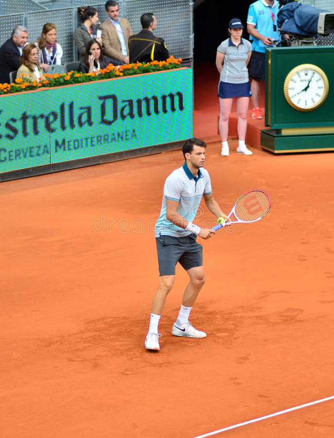 Download Grigor Dimitrov At The ATP Mutua Open Madrid Editorial Photography - Image: 30880947