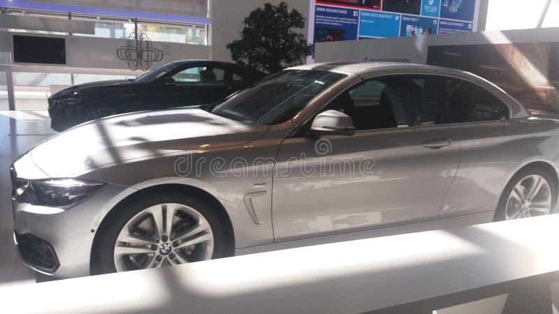 Grijs BMW royalty-vrije stock foto
