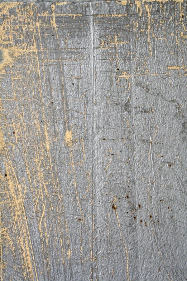Grijs en geel beton stock fotografie