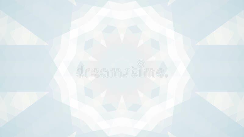 Grijs geometrisch ontwerp, grijze abstracte achtergrond Mozaïek van een vectorcaleidoscoop, Patroon voor bedrijfsadvertentie, boe royalty-vrije illustratie