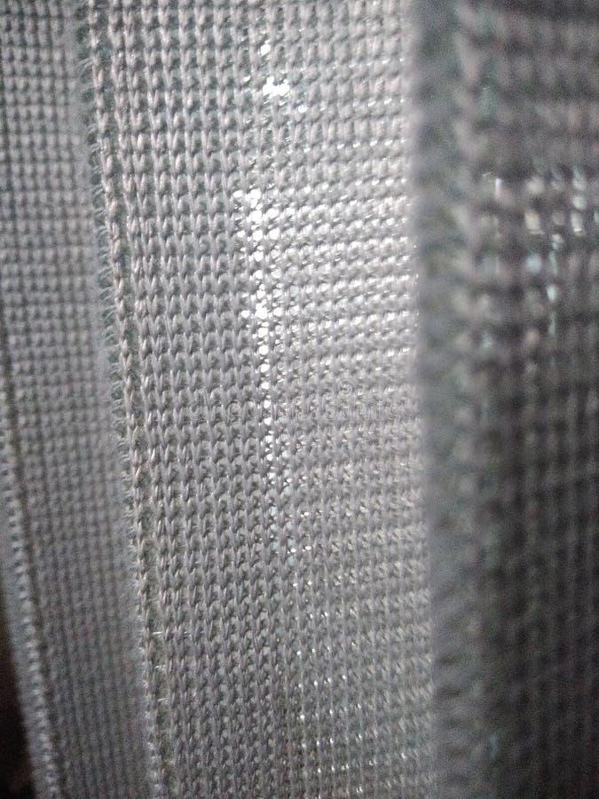 grijs gordijn royalty-vrije stock afbeelding